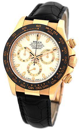 a3e7c9286c8 Rolex Daytona 116515LN Rose Gold   Ceramic Watch in 2019