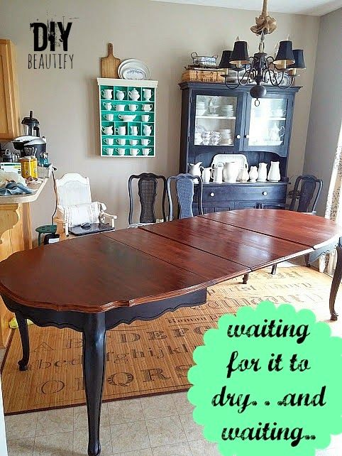 Refinishing A Dining Table