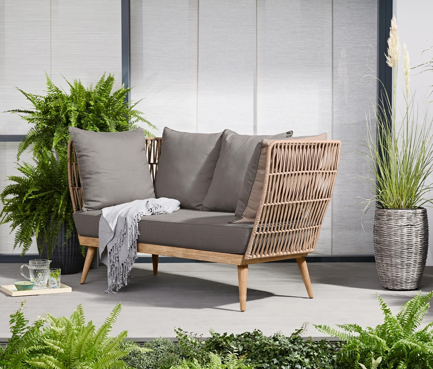 Tchibo Loungemöbel Lounge Sofa Premium Mit Textilgeflecht In 2019 Ideas For My