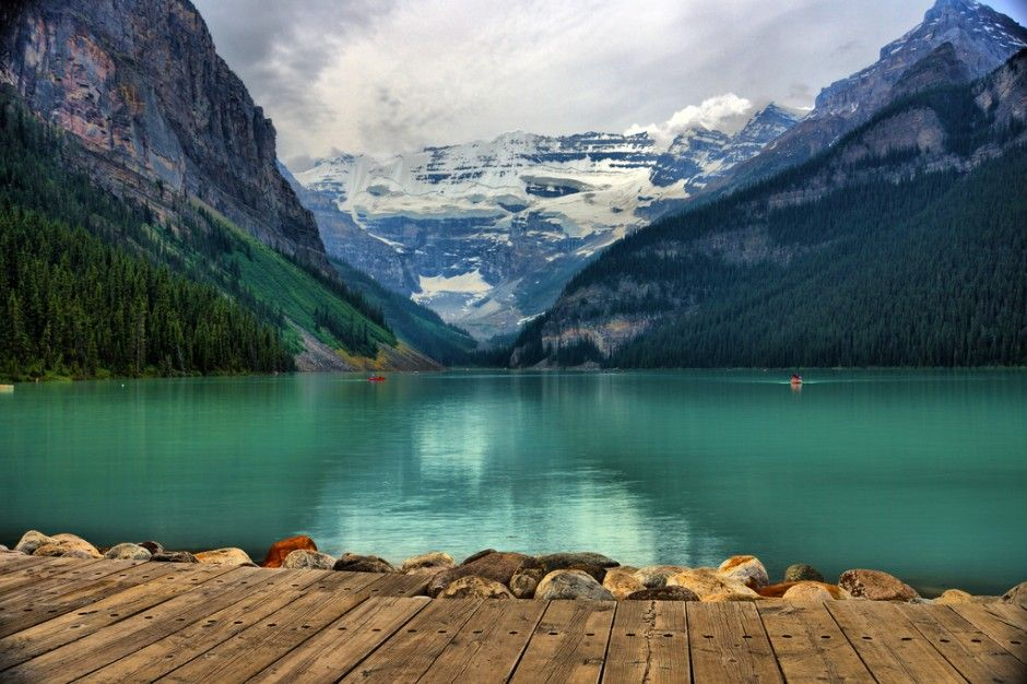 You've never seen water like this [65 photos] Lac louise