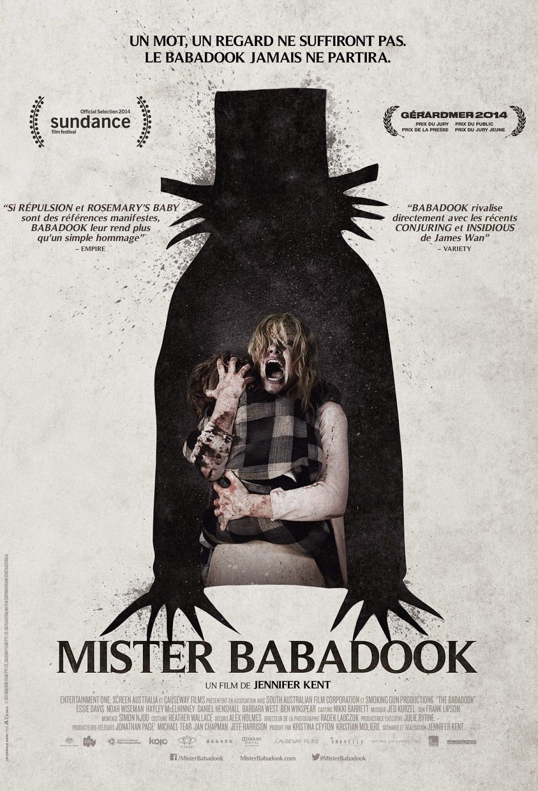 Babadook Cel Bun Film Horror Din 2014 Babadook Horror Movie Posters Movie Posters