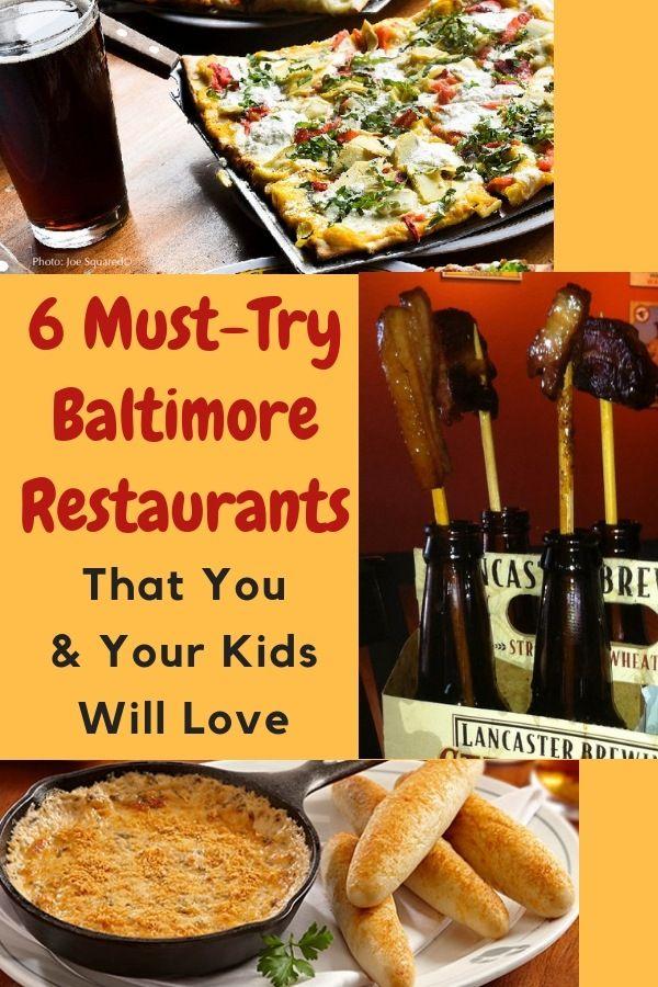 Top Kid Friendly Restaurants In Baltimore Weekend Getaways
