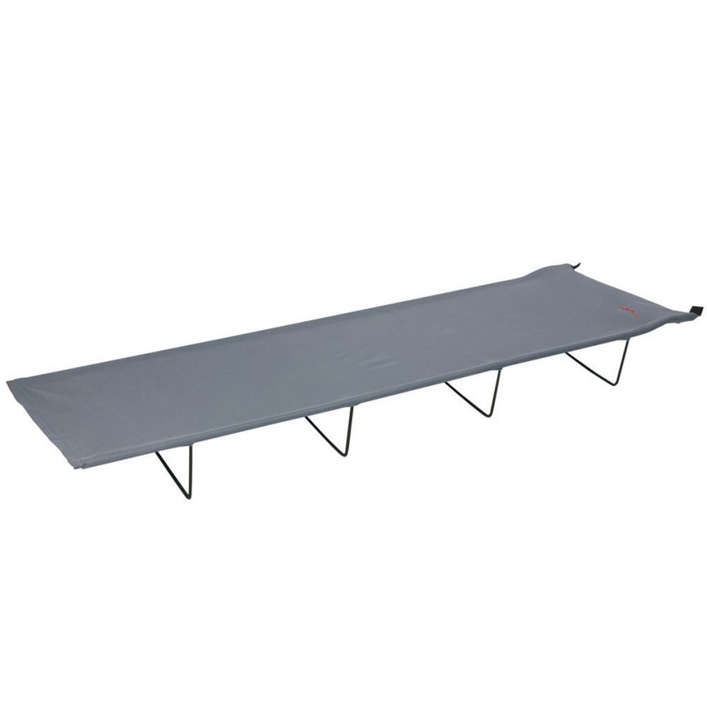 Mountain Folding Camp Bed Solid Steel Frame Grey Color ...