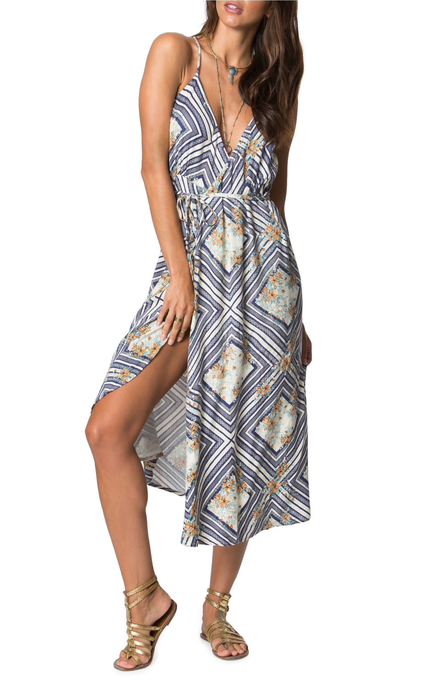 Main image ouneill leelee midi wrap dress wedding pinterest