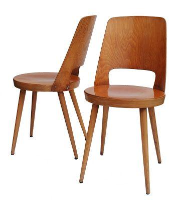 Bo Vintage Chaises Bistro Baumann Annees 60 Chaises Baumann Chaise Chaise Vintage