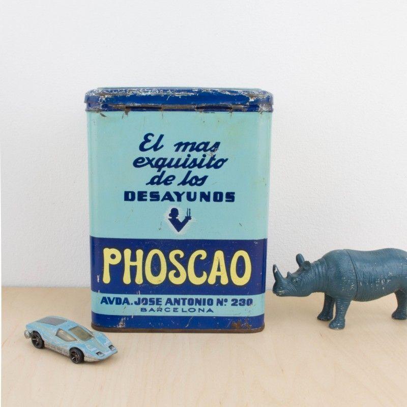 Antigua lata de Phoscao | Antic&Chic