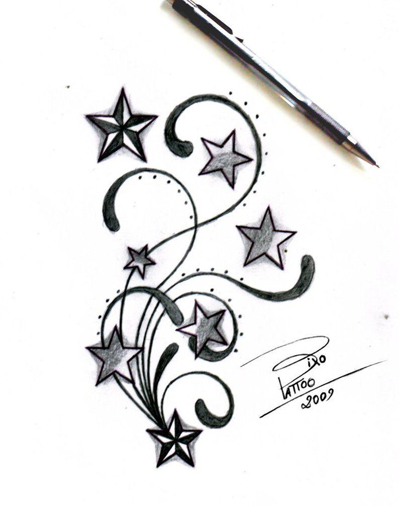 Butterfly star tattoo designs - Tribal Tattoo Designs Stars And Tribal By Bixotattoo On Deviantart