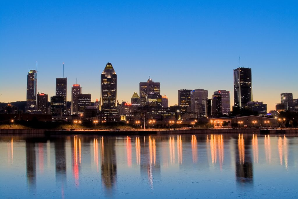 Image result for montreal skyline
