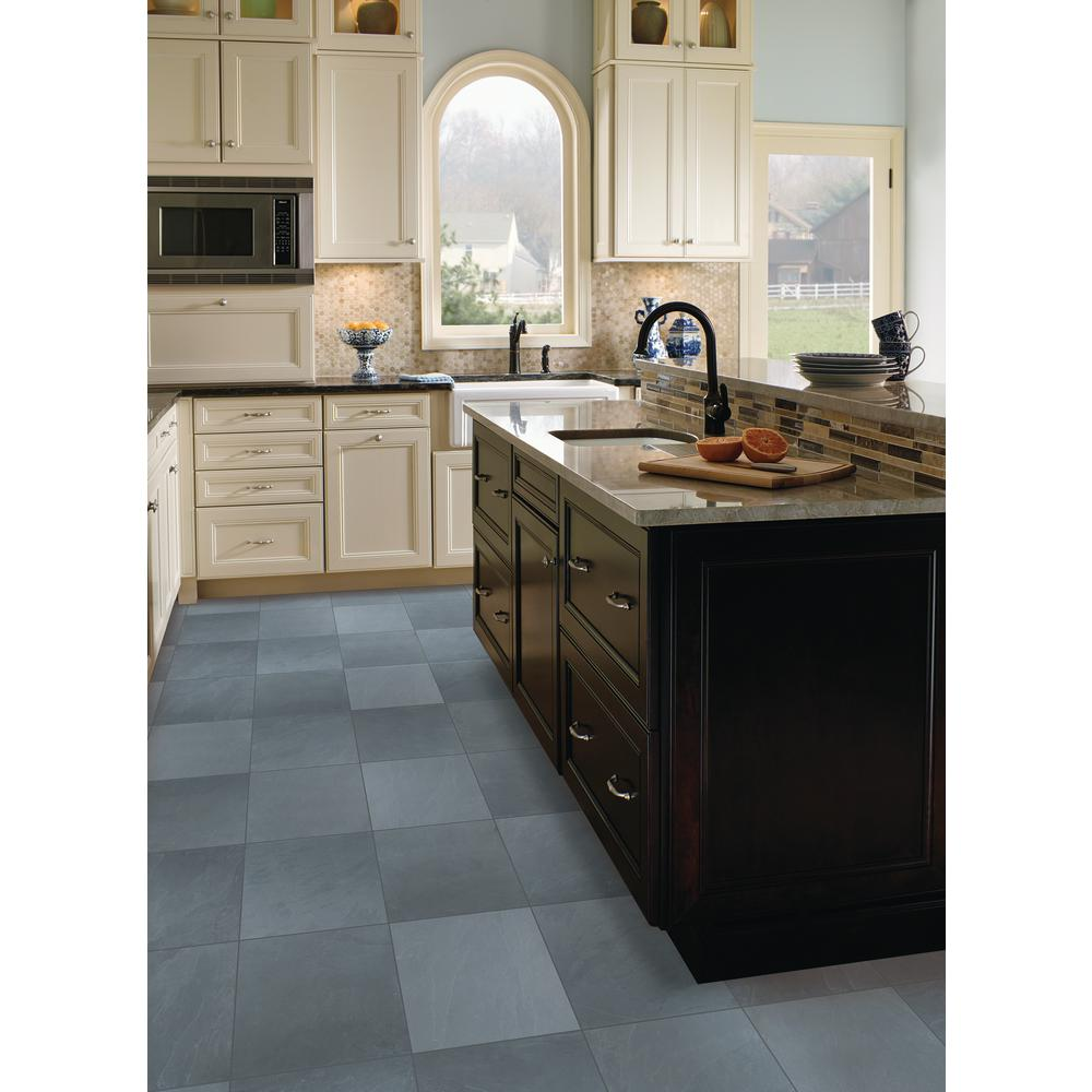 MSI Montauk Blue 12 in. x 12 in. Gauged Slate Floor and