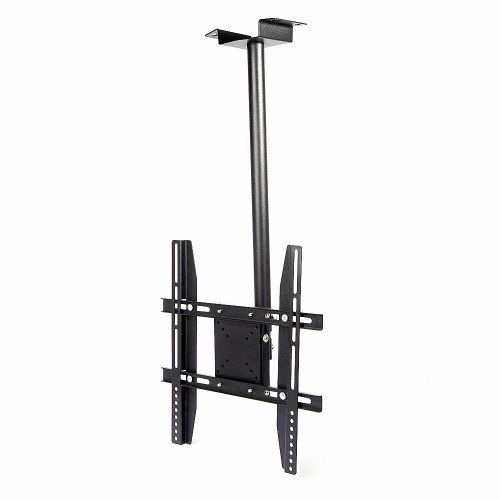 Lumsing Black Tilt & Swivel LCD LED Plasma Flat Panel TV Monitor Ceiling Wall Mount Bracket (14-40 inches TV Display) - http://www.audiovideocabledeals.com/home-theater/home-theater-projector-mounts/lumsing-black-tilt-swivel-lcd-led-plasma-flat-panel-tv-monitor-ceiling-wall-mount-bracket-14-40-inches-tv-display/