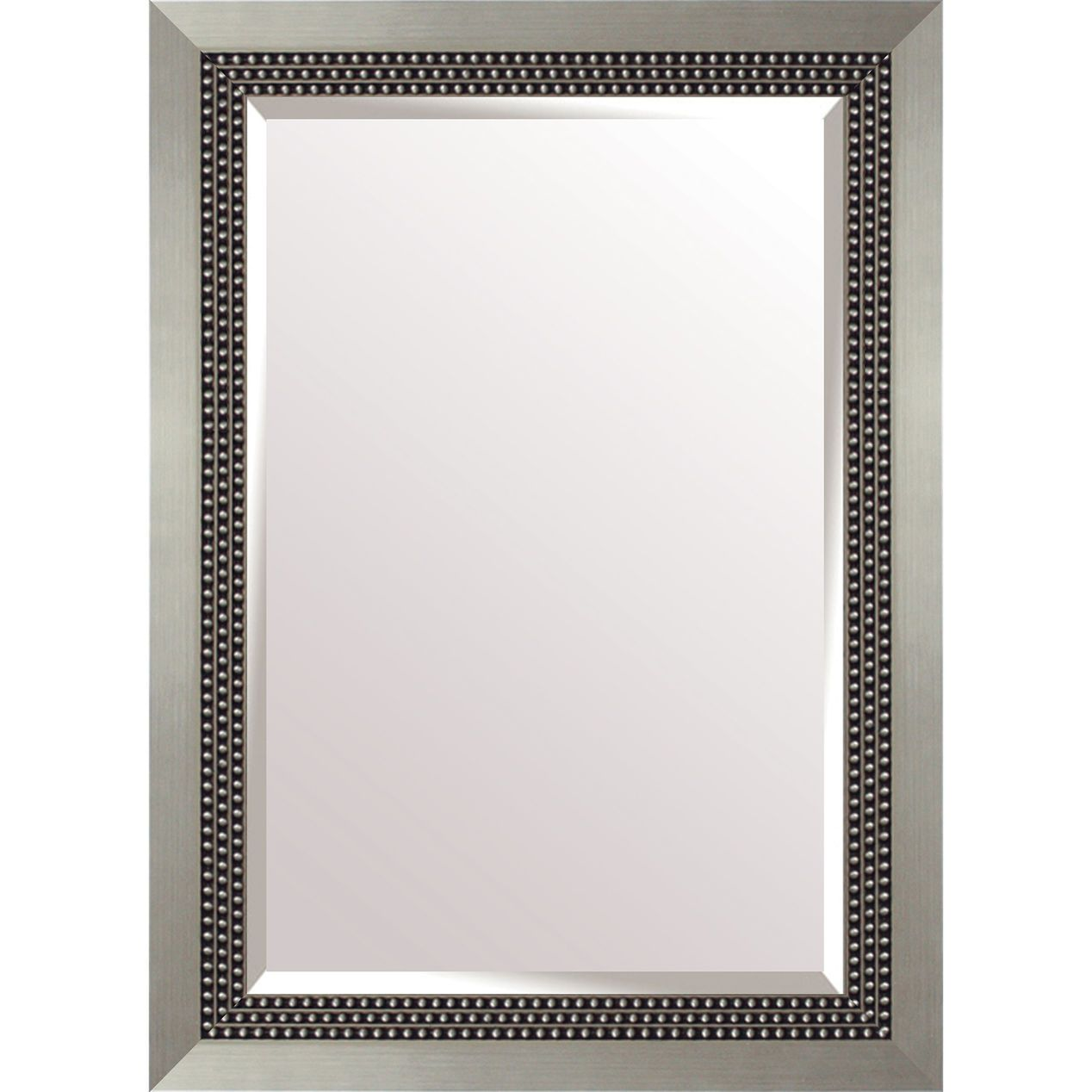 30x36 Rectangle Plastic Triple Beads Silver Wall Mirror Silver Wall Mirror Mirror Mirror Wall [ 1268 x 1268 Pixel ]