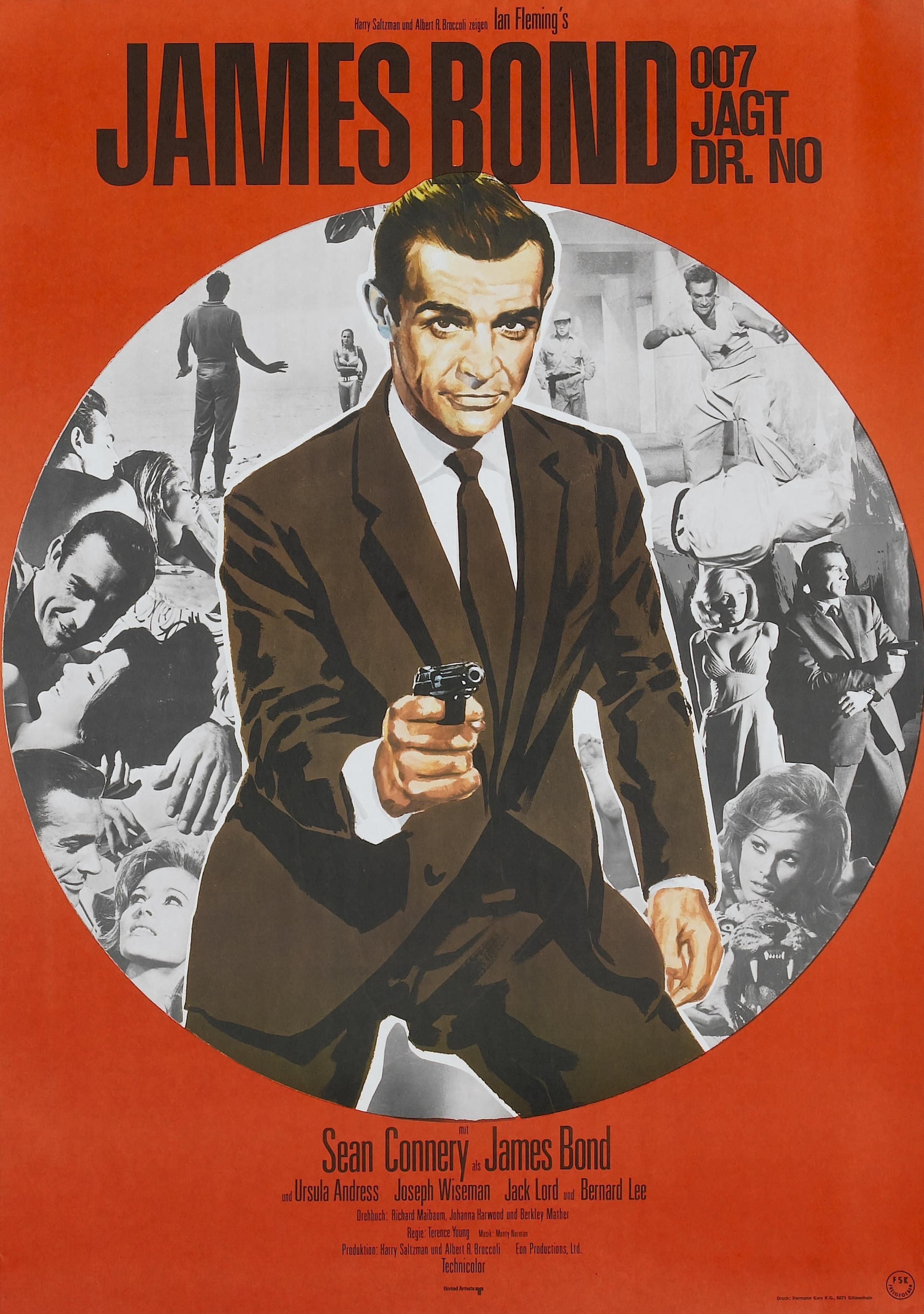 FRAMED James Bond Poster Prints Film Movie A3 A4 THUNDERBALL OCTOPUSSY 007 DR NO