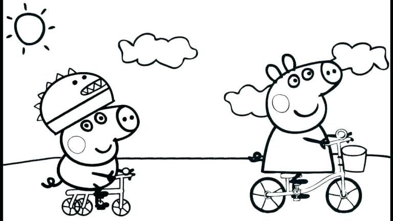 peppa wutz fee ausmalbilder  peppa pig coloring pages her