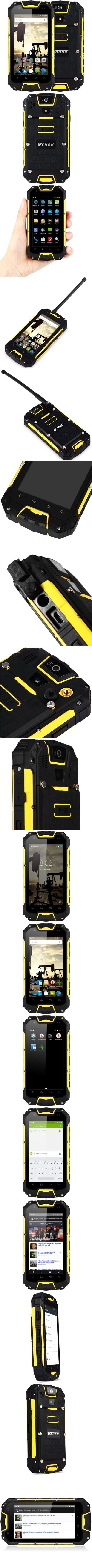 VCHOK M9 IP68 4G Smartphone