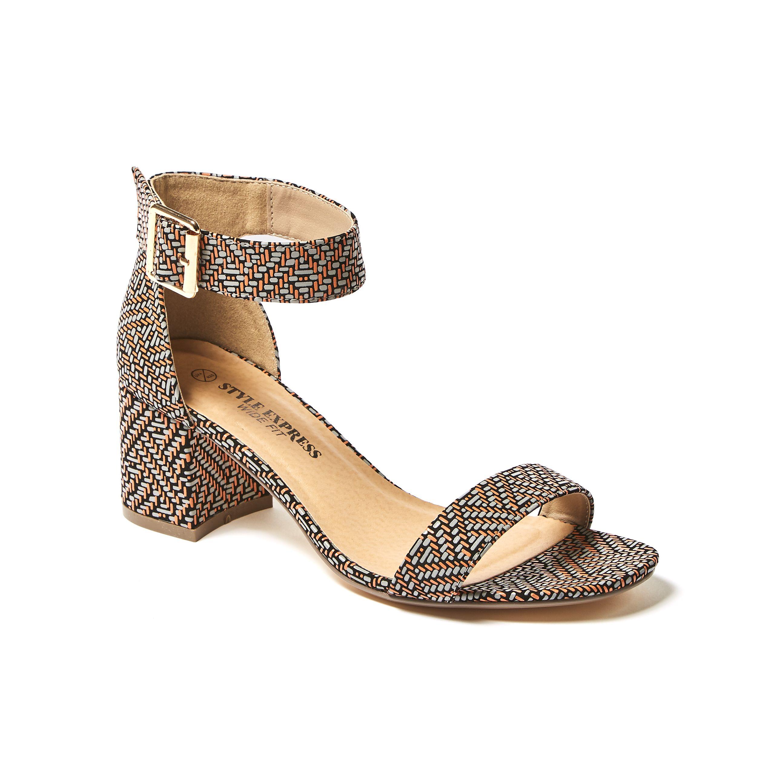 Ebony Block Heels Wide Fit Black Number One Shoes Heels Womens Heels Number One Shoes