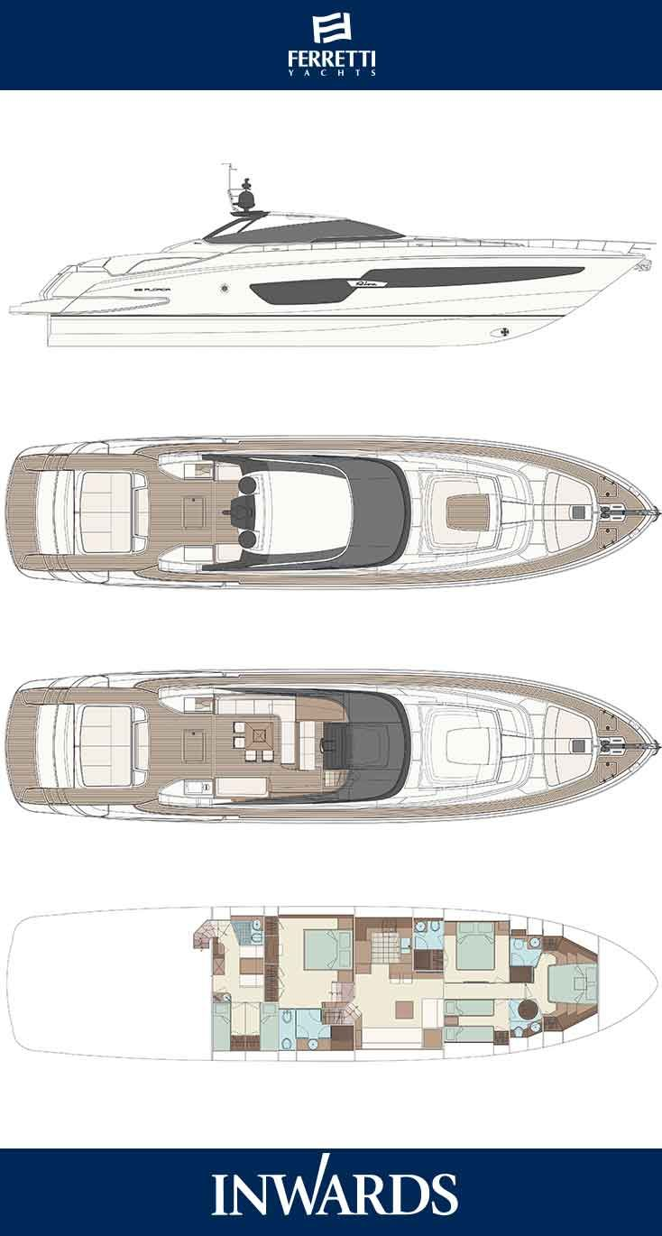 Riva 88 florida layout transforms from an open to a coupe