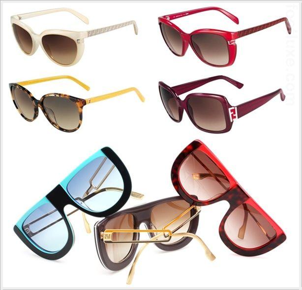 #Fendi 2012 Spring Summer Eyewear Collection  #Fashion #New #Nice #Sunglasses  www.2dayslook.com