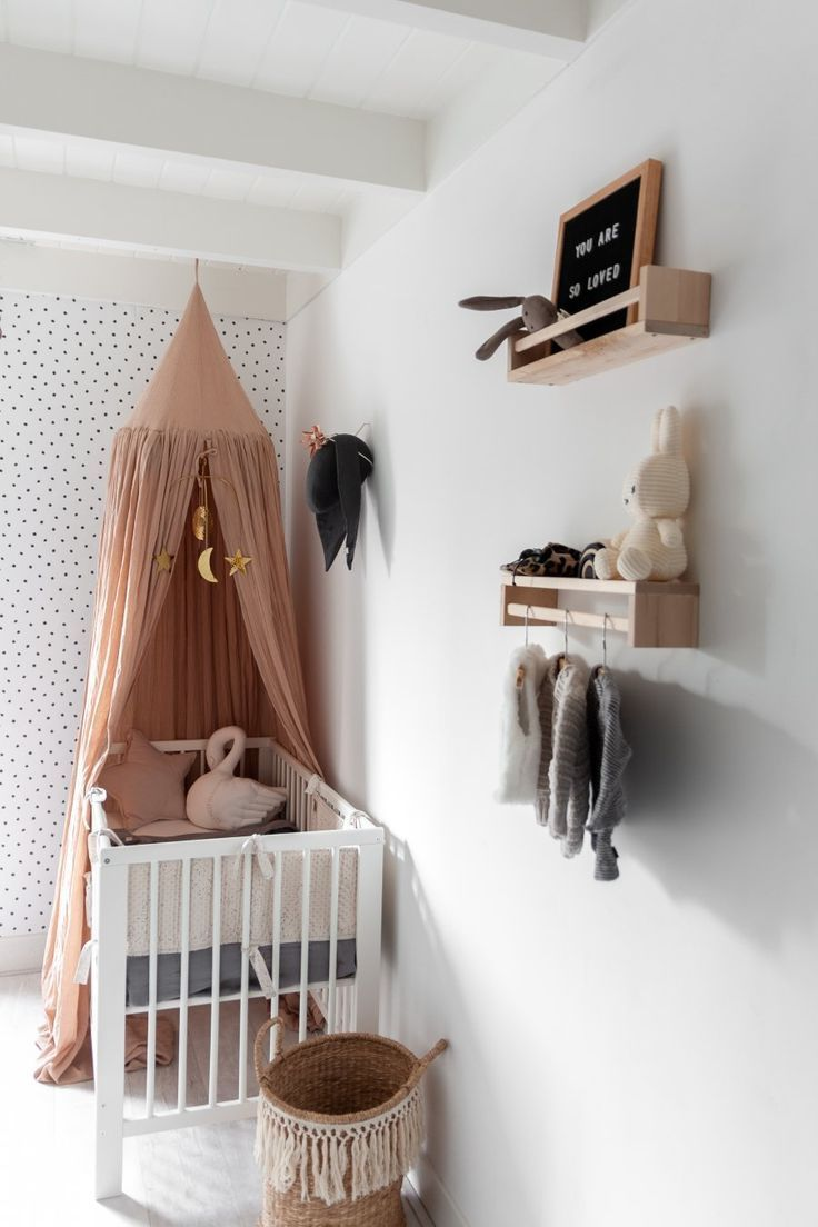 Room Tour: Kijkje In De Babykamer In 2020 | Baby Girl Room, Baby Room Decor, Girl Room