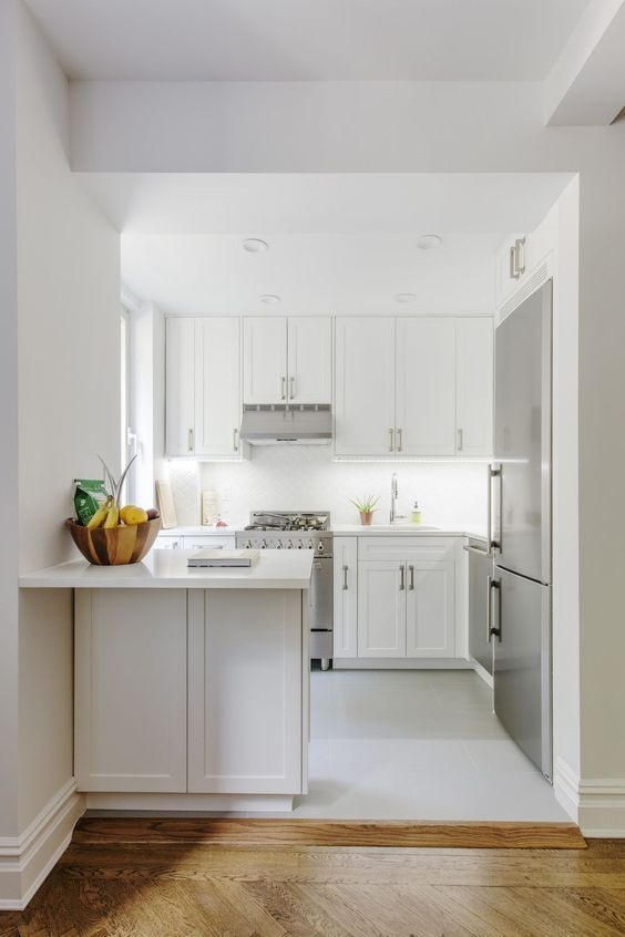 51 Gorgeous Kitchen Design Ideas For Small House Small Space Kitchen Kitchen Remodel Small Kitchen Layout