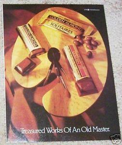 Vintage chocolate ad (1986)