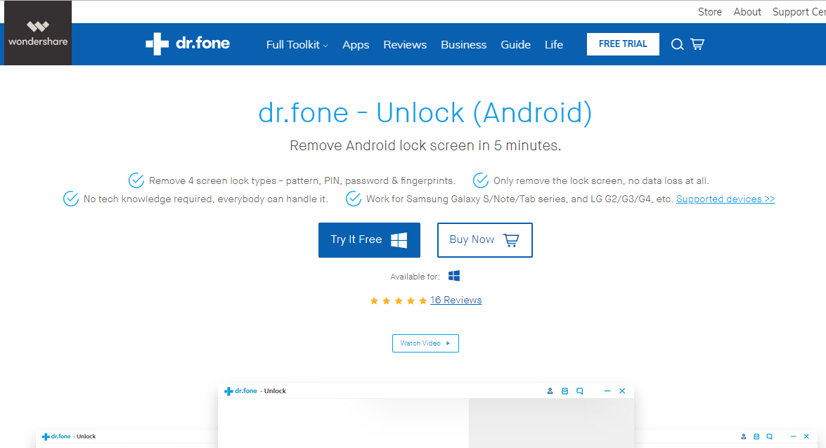 official drfone unlock android lock screen removal - 1175×638