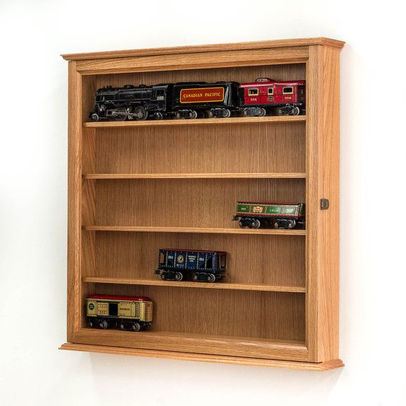 Solid Wood Kitchen Cabinets Made In Usa: Model Train Display Case. Made In The USA With High