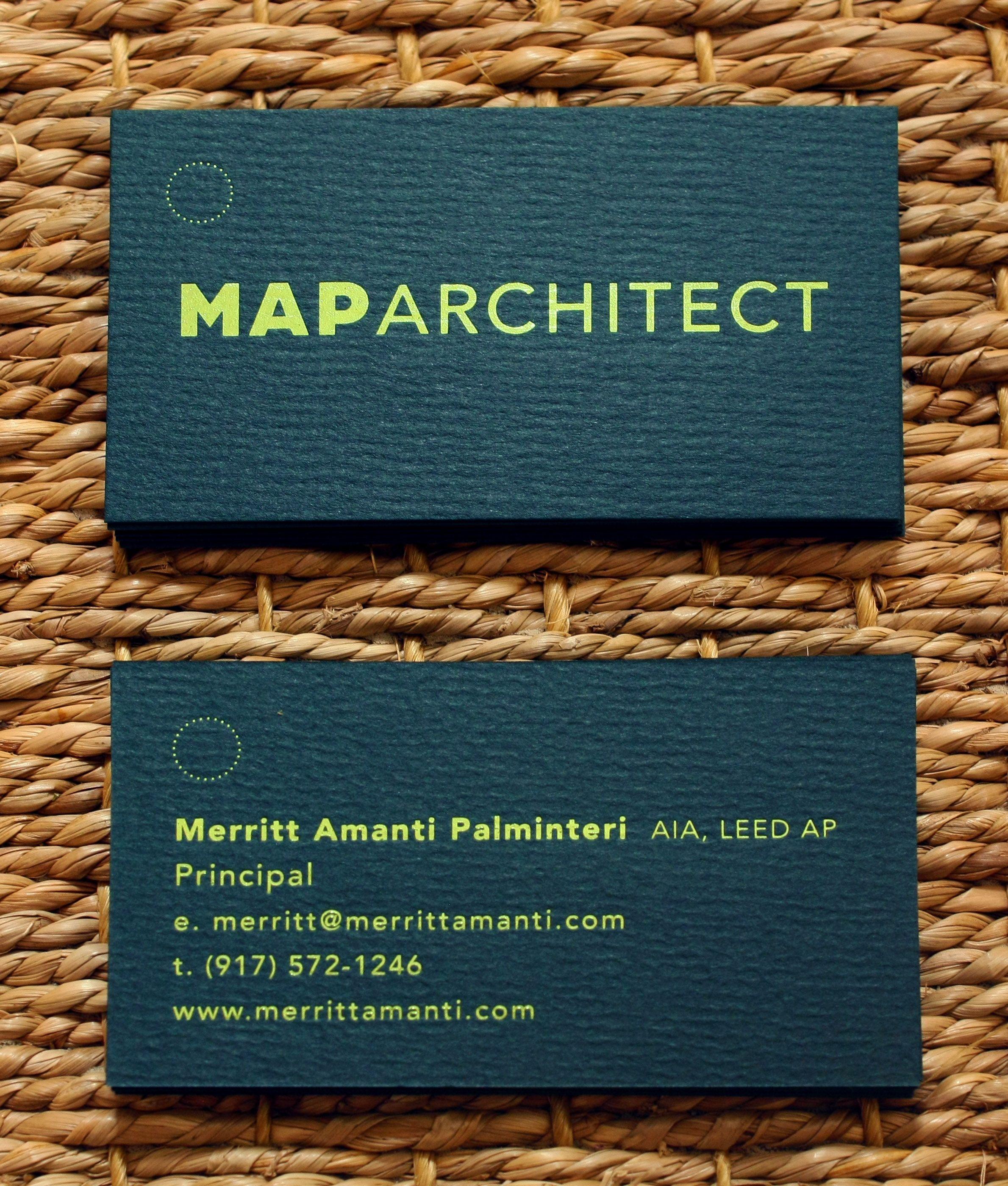 Letterpress business cards neon metallic eggshell with romalian letterpress business cards neon metallic reheart Choice Image