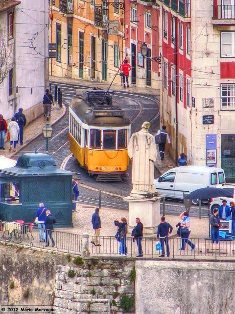 Mário Marzagão alfacinha | Lisboa e os Elétricos de 2019