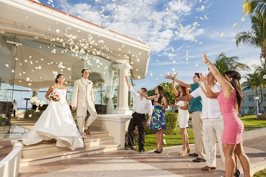 All Inclusive Cancun Wedding at the Moon Palace