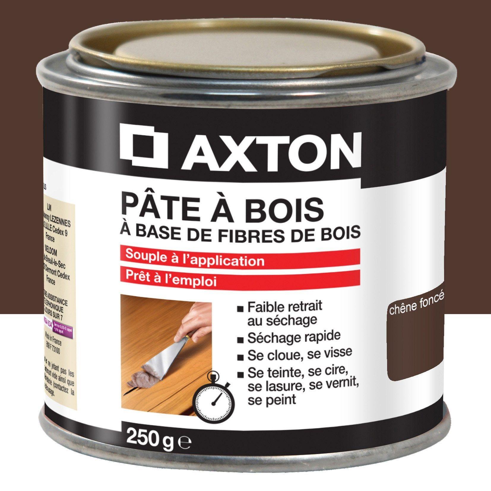 Pate A Bois Axton Chene Fonce 250 En 2020 Pate A Bois Bois Et Bois Souple