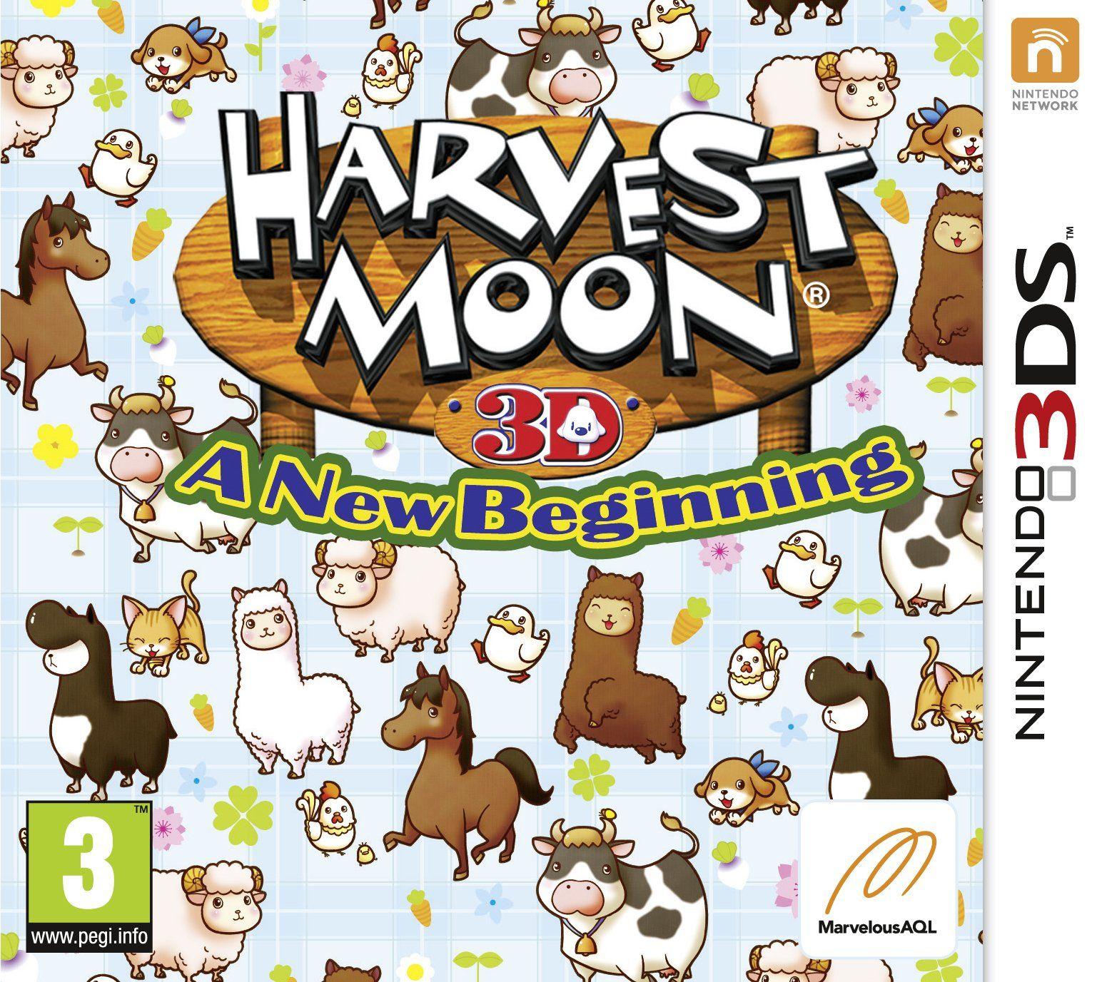 Harvest Moon A New Beginning (Nintendo 3DS) Amazon.co.uk