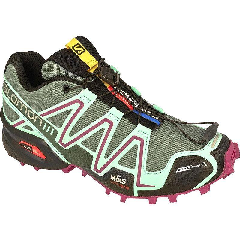 Buty Biegowe Salomon Speedcross 3 Cs W Zielone Salomon Speedcross 3 Hoka Running Shoes Running Shoes