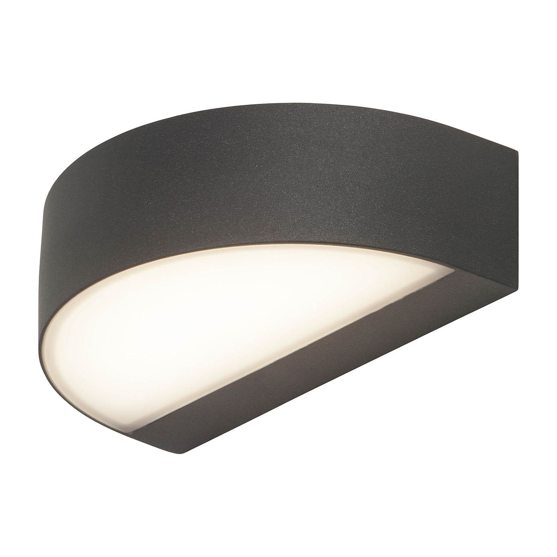 LED Aussen Wandleuchte Monido Acrylglas | home24.at