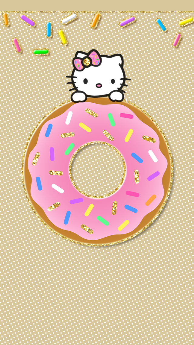 Free Hello Kitty Android iPhone wallpaper background! Cute ...