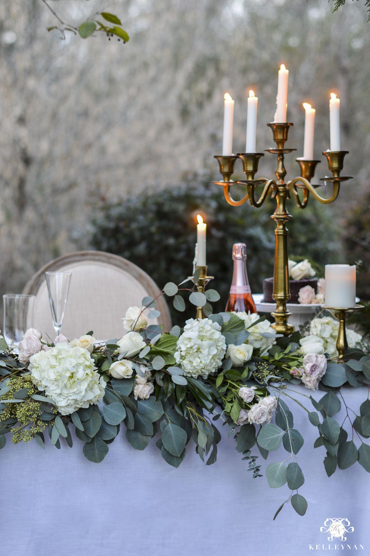 Stylish wedding reception head table | Wedding table ...  |Outdoor Wedding Reception Head Table