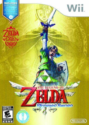 Amazon.com: The Legend of Zelda: Skyward Sword with Music CD - Nintendo Wii: Video Games