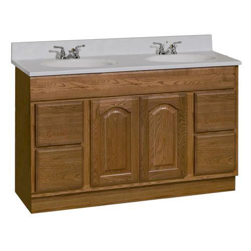 pace king james series 48 x 21 vanity at menards repair rh pinterest com Menards Bathroom Vanities Oak Menards Bathroom Medicine Cabinets