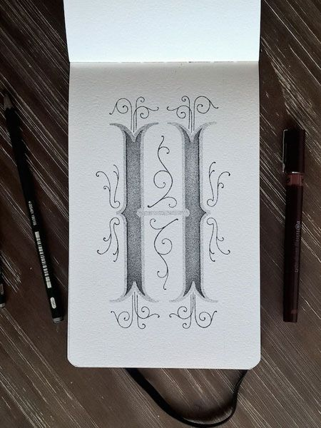 Xavier Casalta's creative alphabet #lettering #script #typography #type #brush #handlettering #visual #design