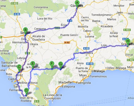 Andaluzia Roteiro Pratico De 7 Dias Ronda Espanha Espanha E