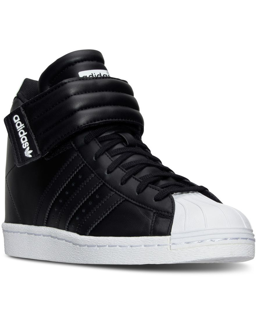 Adidas White Women'S Superstar Up Casual Sneakers From Finish Line