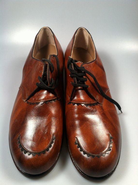 709c065cb3ee8 DEADSTOCK Vintage Women's OXFORD Shoes Genuine LEATHER Miller Foot ...
