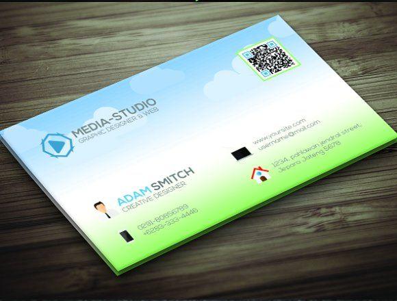 Cartoon Business Card Business Card Template Design Photography Business Cards Template Business Card Design