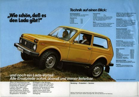Lada Niva Brochure Niva Sports Cars Luxury Car Ads