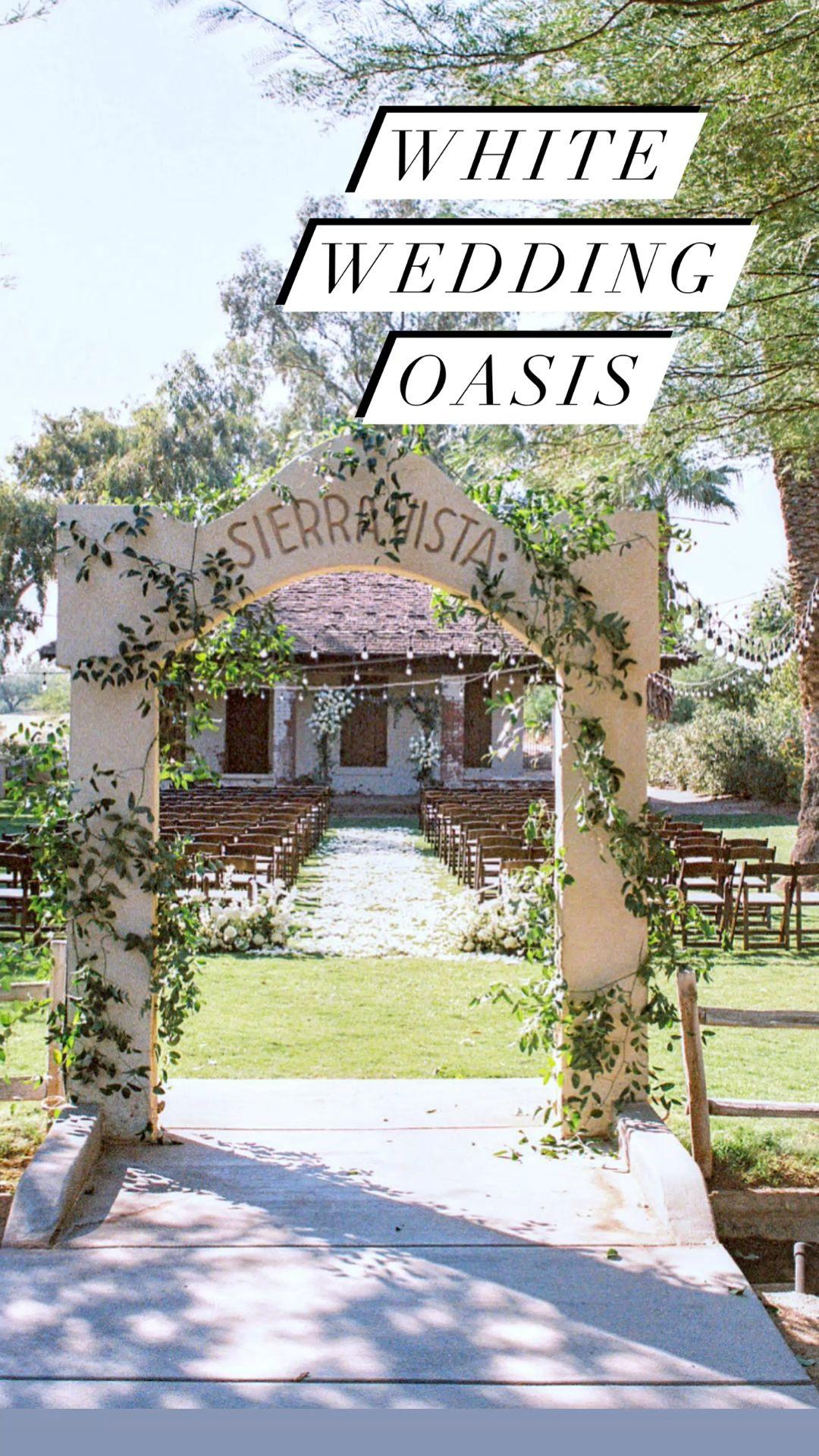 White Wedding Oasis