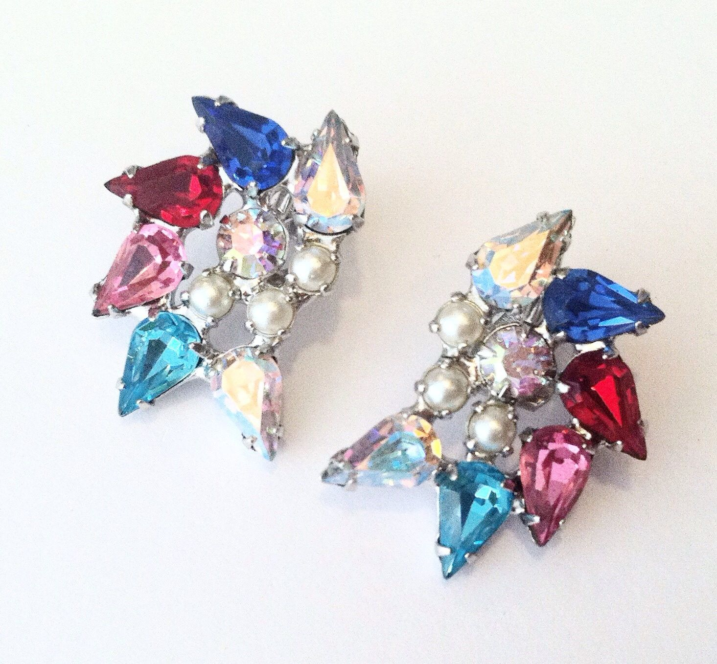 bear earrings betsey johnson stud multi colored pink shop baby jewelry p sweet