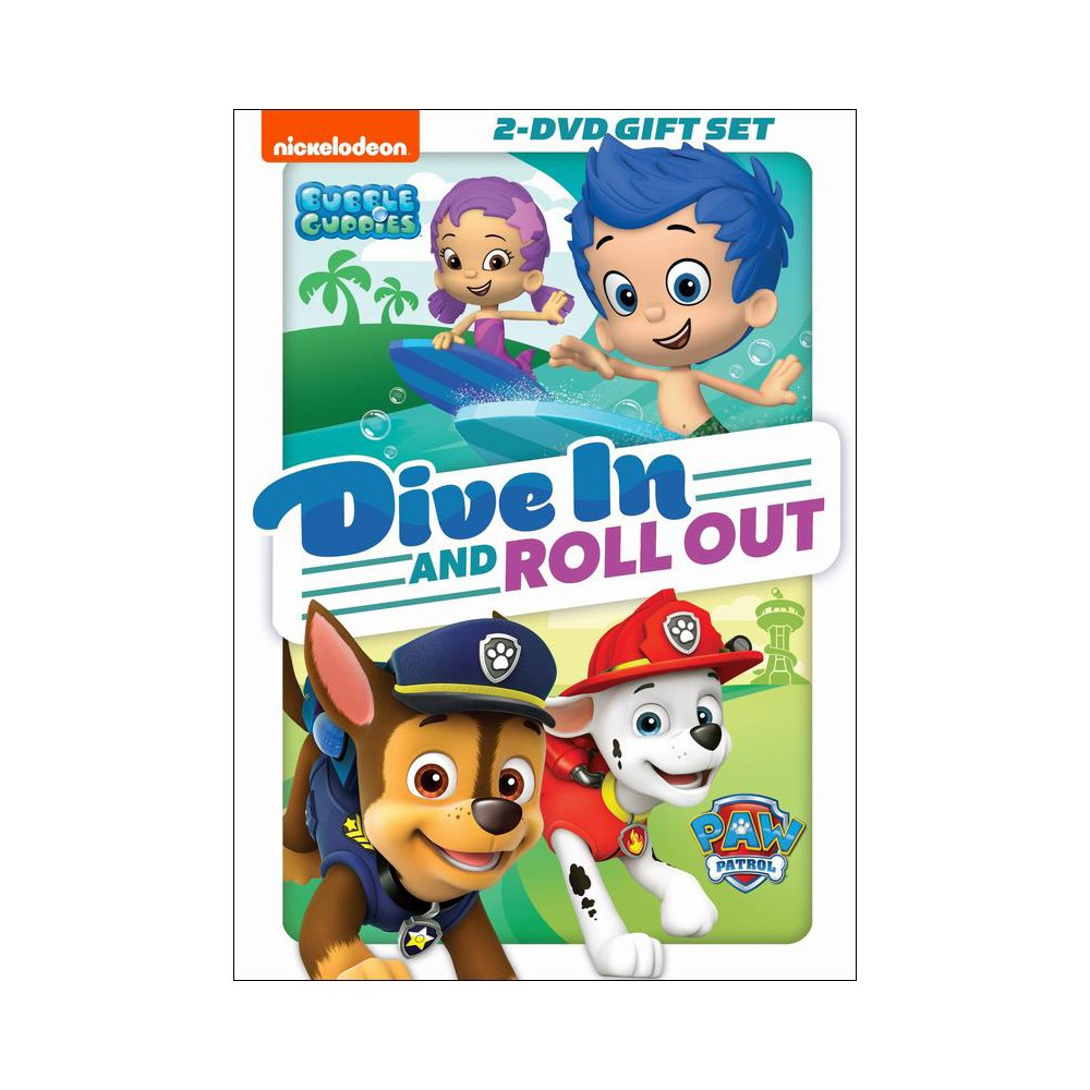 PAW Patrol/Bubble Guppies: Dive in and Roll Out