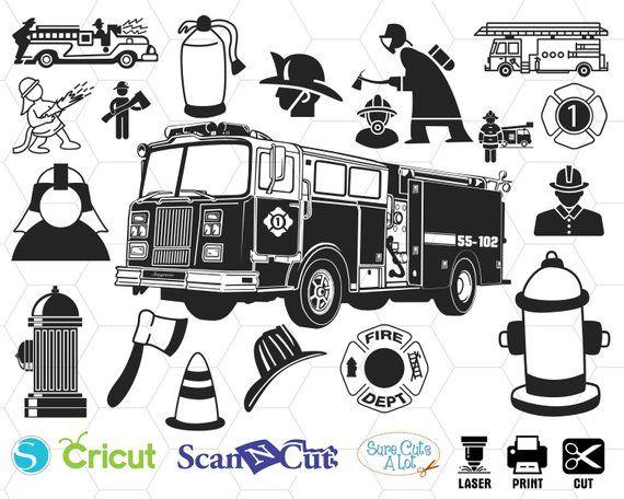 fireman silhouette clip art # 59