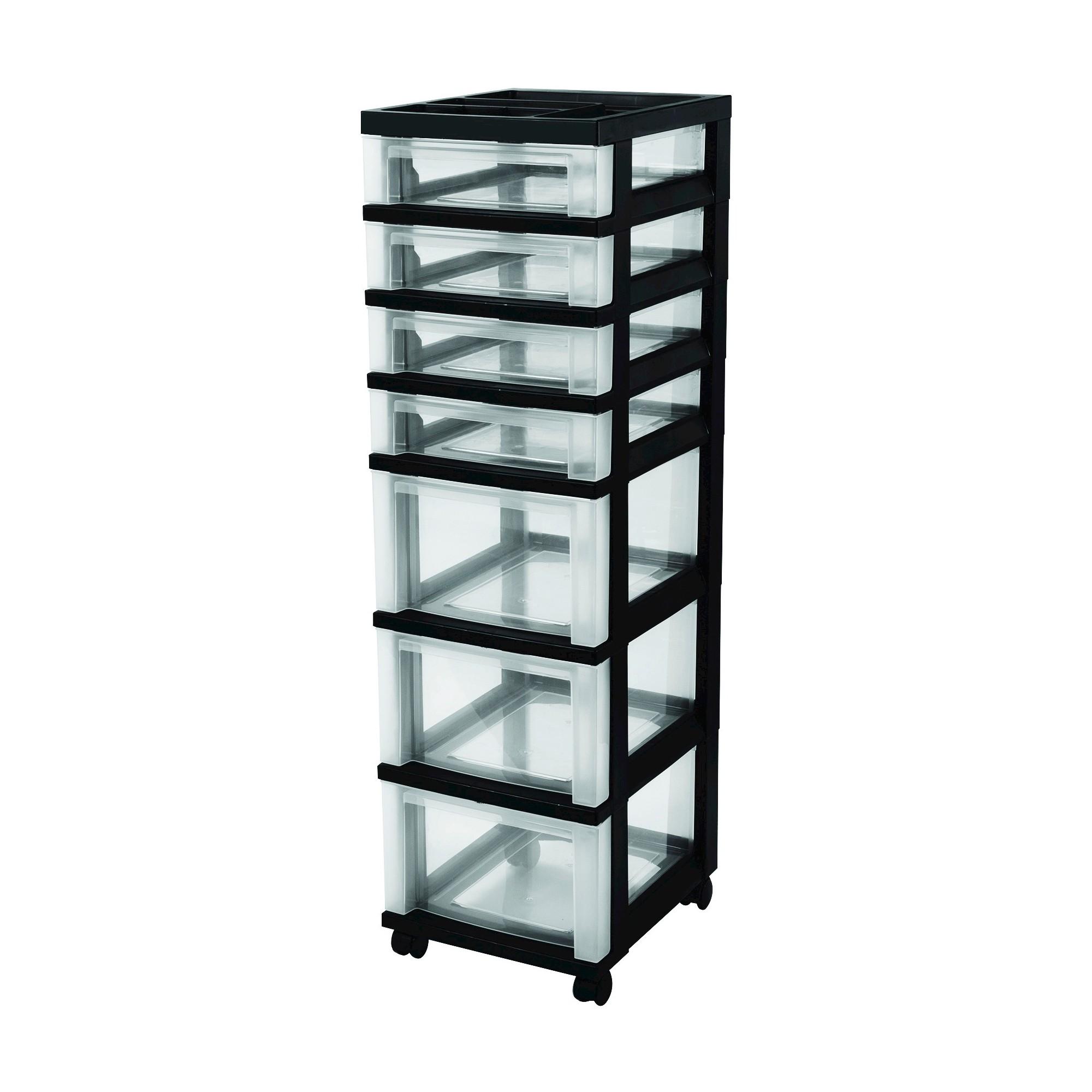 storage cart drawers drawer designs tall