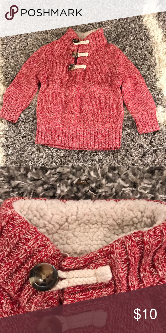 d867508b7e58 Cat and Jack Baby Boy Sweater Red
