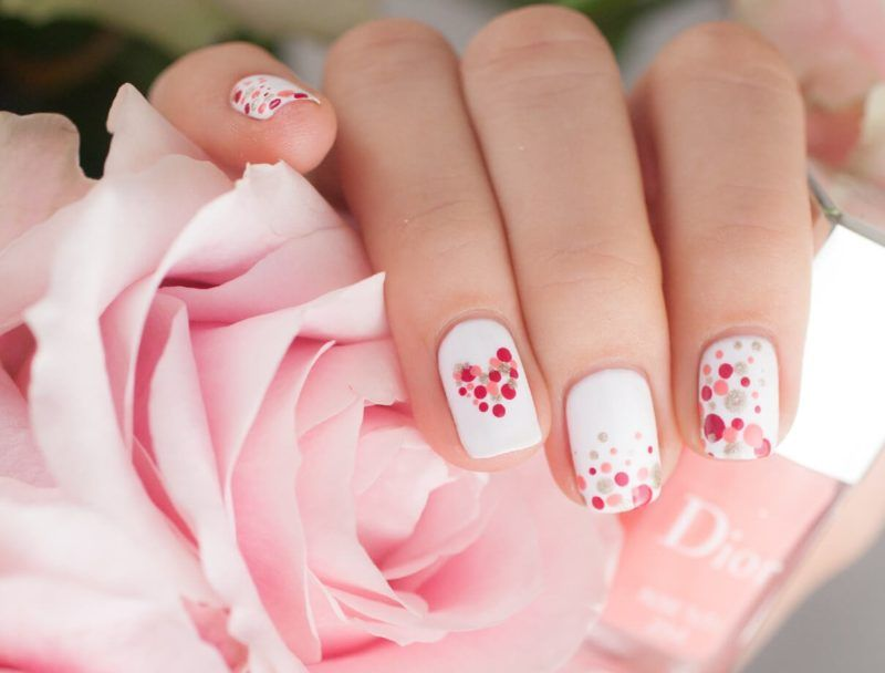 Beautiful Nail Art Design Ideas Trends 2020 Flymeso Blog Valentines Nail Art Designs Valentine Nail Art Valentines Nails